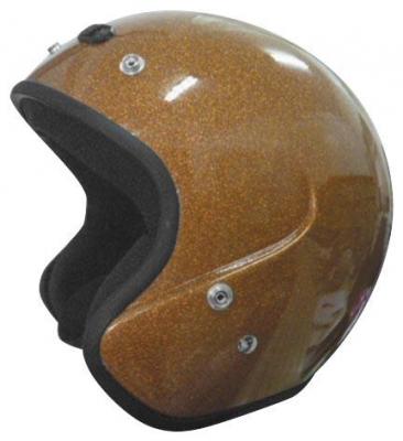 Cyber Helmets - Cyber Helmets U-6 Open Face Metal Flake Helmet 641474