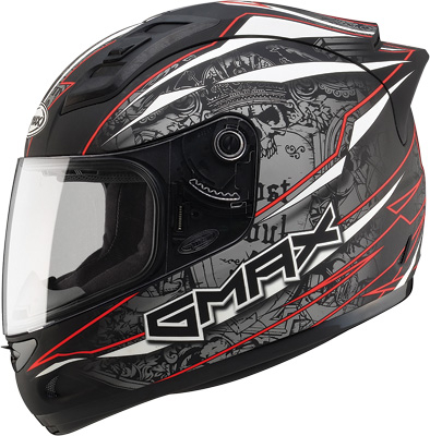 GMAX - GMAX GM69 Mayhem Full Face Helmet G7693205 TC-1