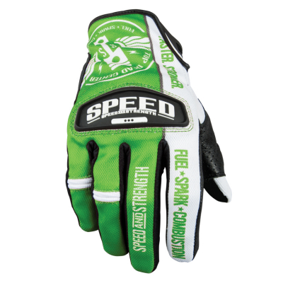 Speed & Strength - Speed & Strength Top Dead Center Leather and Mesh Gloves 87-6945