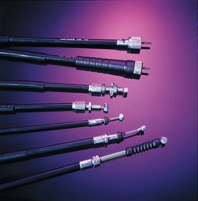 Motion Pro - Motion Pro Black Vinyl OE Pull Throttle Cable 04-0098