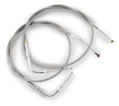 Barnett - Barnett Stainless Clear-Coated Throttle Cable 102-30-30009-04
