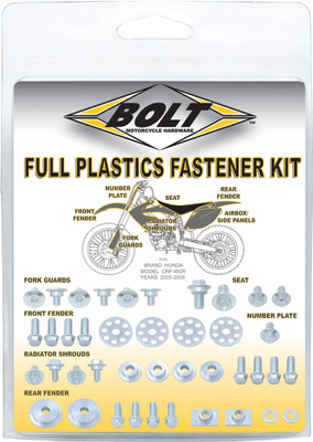 Bolt - Bolt Full Plastic Fastener Kit YAM-1010004R
