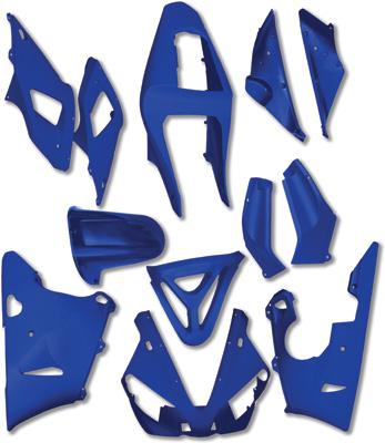 Yana Shiki - Yana Shiki Fairing Kit BKY510BLU