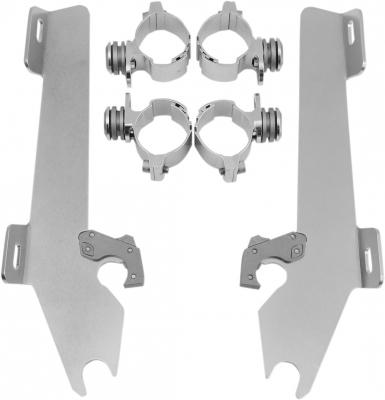 Memphis Shades - Memphis Shades Trigger-Lock Mount Kit for Batwing Fairing MEK1902