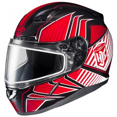HJC - HJC CL-17 Snowmobile Helmet Redline Graphics 57-19214