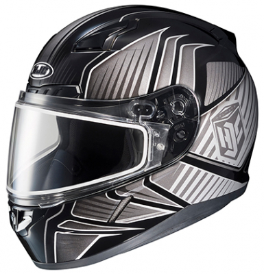 HJC - HJC CL-17 Snowmobile Helmet Redline Graphics 1151-1105-03