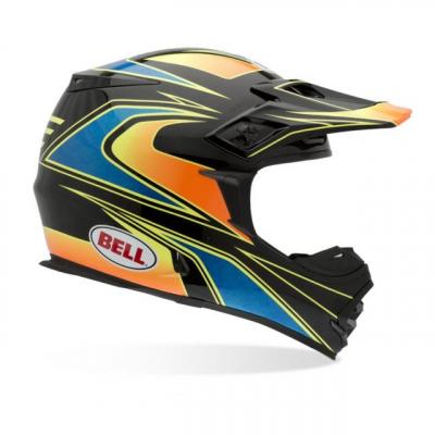 Bell Powersports - Bell Powersports MX-2 Tagger Transition Motocross Helmet 7001256