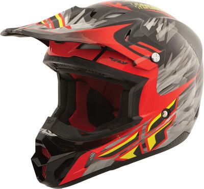 Fly Racing - Fly Racing Kinetic Pro Shorty Replica Helmet 73-33042X